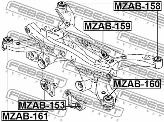 Lagerung, Differential FEBEST MZAB-153 Bewertung