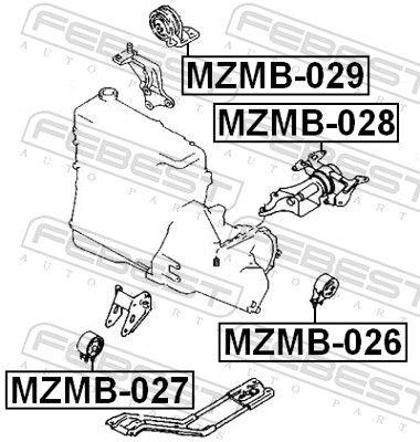 Motoraufhängung FEBEST MZMB-028 Bewertung