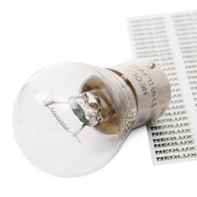 Bulb, indicator P21W, BA15s, 24V, 21W N241