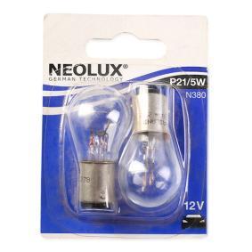 Bulb, indicator P21/5W, BAY15d, 12V, 21/5W N380-02B BMW 3 Series, 5 Series, X5