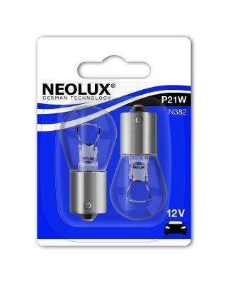 Glühlampe, Blinkleuchte N382-02B NEOLUX® P21W in Original Qualität