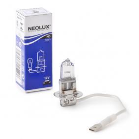 Крушка с нагреваема жичка, фар за дълги светлини H3, 55ват, 12волт N453