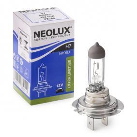 Крушка с нагреваема жичка, фар за дълги светлини H7, 55ват, 12волт N499LL VW GOLF, PASSAT, POLO