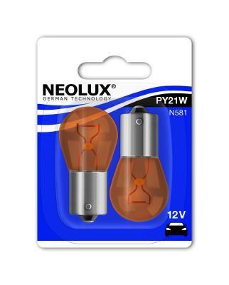Glühlampe, Blinkleuchte N581-02B NEOLUX® PY21W in Original Qualität