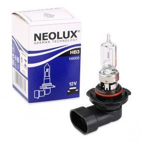 Крушка с нагреваема жичка, фар за дълги светлини HB3, 60ват, 12волт N9005