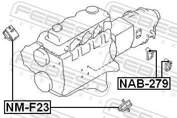 Motoraufhängung FEBEST NAB-279 Bewertung