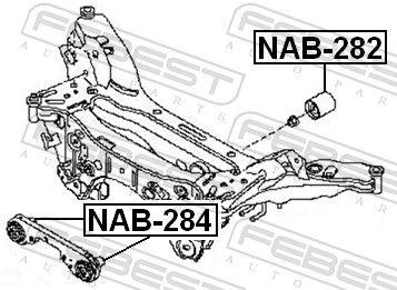 Lagerung, Differential FEBEST NAB-284 Bewertung