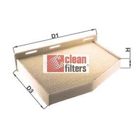 Filter, Innenraumluft Höhe: 30mm mit OEM-Nummer 1K0 819 644