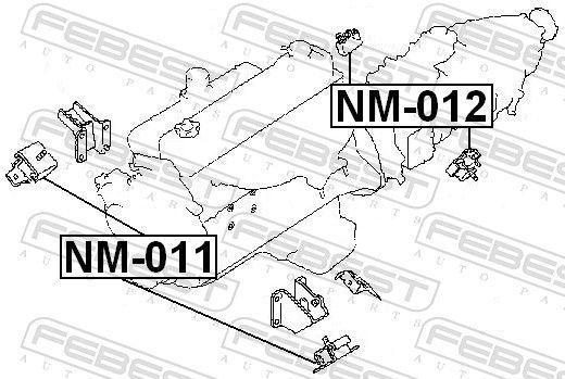 Motoraufhängung FEBEST NM-012 Bewertung