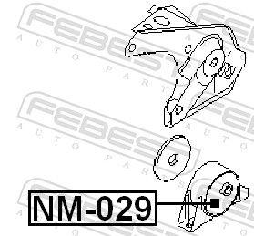 Motoraufhängung FEBEST NM-029 Bewertung