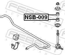Lagerung, Achsstrebe FEBEST NSB-009 Bewertung