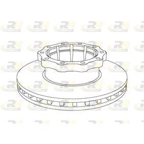 Bremsscheibe Bremsscheibendicke: 45mm, Lochanzahl: 10, Ø: 438mm mit OEM-Nummer 356.421.10.12