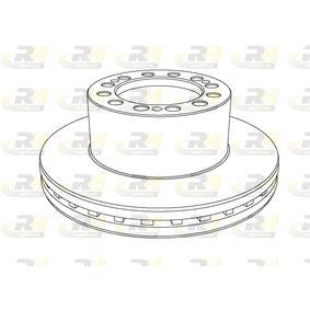 Bremsscheibe Bremsscheibendicke: 45mm, Lochanzahl: 12, Ø: 377mm, Ø: 377mm mit OEM-Nummer 1109-20