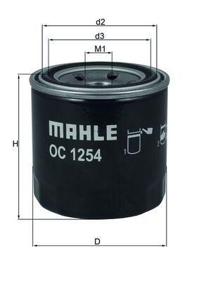 Ölfilter MAHLE ORIGINAL OC1254 Erfahrung