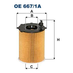 Ölfilter Ø: 71,5mm, Innendurchmesser 2: 26mm, Innendurchmesser 2: 25,5mm, Höhe: 83mm mit OEM-Nummer 2S6Q 6714 AB