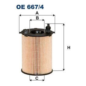 Oil Filter OE667/4 3008 (0U_) 1.6 BlueHDi 120 MY 2016
