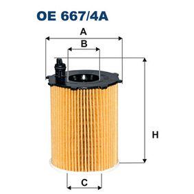 Oil Filter OE667/4A 3008 (0U_) 1.6 BlueHDi 120 MY 2015