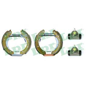 Bremsensatz, Trommelbremse mit OEM-Nummer 6025370302