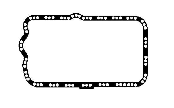 BGA  OP0325 Dichtung, Ölwanne Länge: 450mm
