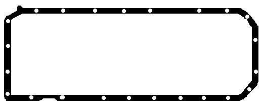BGA  OP1346 Dichtung, Ölwanne Länge: 630mm