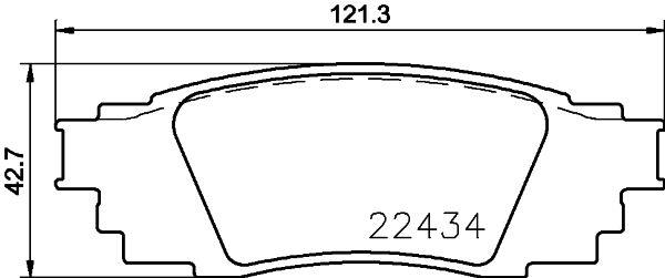 Brake Pads P 83 160 BREMBO D18799107 original quality