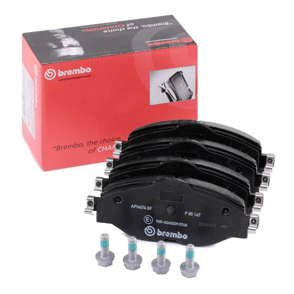 Disk Pads BREMBO P 85 147 expert knowledge