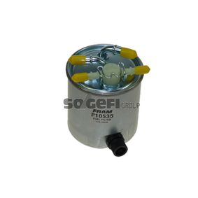 Fuel filter Height: 122mm with OEM Number 16400-JX51A
