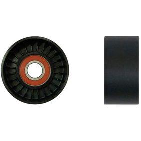 Tensioner Pulley, v-ribbed belt Ø: 76mm, Width: 37mm with OEM Number 31170RAAA02