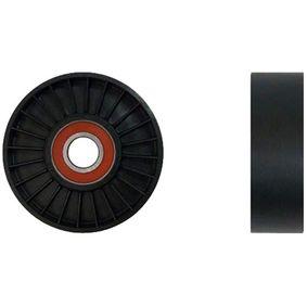 DENCKERMANN  P324014 Spannrolle, Keilrippenriemen Ø: 90mm, Breite: 25mm
