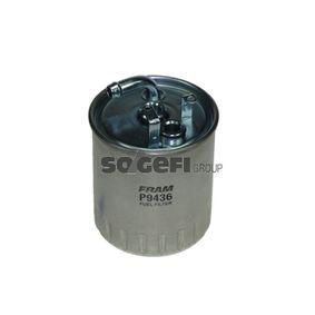 Kraftstofffilter Höhe: 127mm mit OEM-Nummer 611 092 02 01