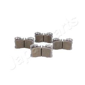 Bremsbelagsatz, Scheibenbremse Höhe: 88mm, Dicke/Stärke: 18,5mm mit OEM-Nummer 04465-0W110