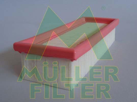 MULLER FILTER  PA132 Luftfilter Länge: 230mm, Breite: 89mm, Höhe: 49mm, Länge: 230mm