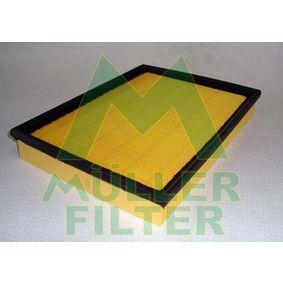 Luftfilter Länge: 288mm, Breite: 213mm, Höhe: 42mm mit OEM-Nummer UE 701 23