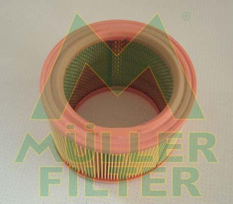 MULLER FILTER  PA222 Luftfilter Höhe: 126mm