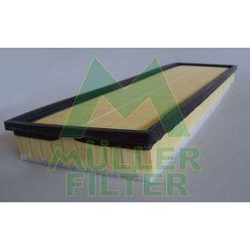 BMW E39 525tds Luftfilter MULLER FILTER PA278 (525tds 2.5 Diesel 2003 M51 D25 (256T1))