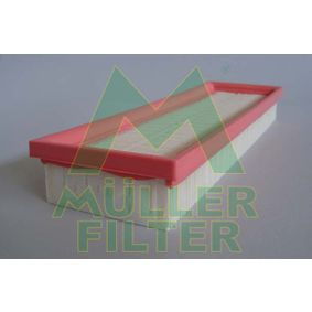 Renault Scenic 1 1.9dTi (JA0N) Luftfilter MULLER FILTER PA282 (1.9 dTi Diesel 2000 F9Q 734)