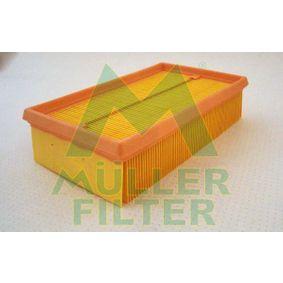 Luftfilter Länge: 238mm, Breite: 140mm, Höhe: 57mm, Länge: 238mm mit OEM-Nummer 2232 400 QAB