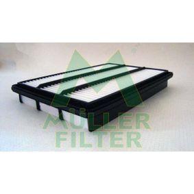 Filtro de aire Long.: 360mm, Ancho: 237mm, Altura: 48mm con OEM número MR 404847