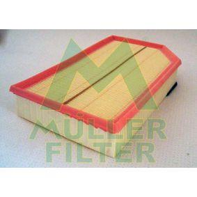 Luftfilter Länge: 327mm, Breite: 216mm, Breite 1: 149mm, Höhe: 58mm mit OEM-Nummer 8638600