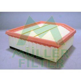 Luftfilter Länge: 226mm, Breite: 212mm, Breite 1: 134mm, Höhe: 60mm, Länge: 226mm mit OEM-Nummer 30636833
