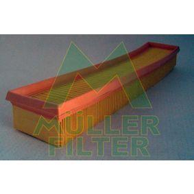 Luftfilter Länge: 453mm, Breite: 89mm, Höhe: 50mm, Länge: 453mm mit OEM-Nummer 4X43 9601BA