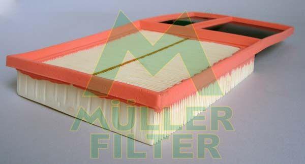 MULLER FILTER  PA3260 Luftfilter Länge: 375mm, Breite: 191mm, Höhe: 42mm, Länge: 375mm