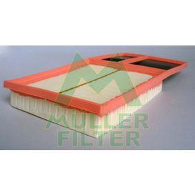 MULLER FILTER  PA3260 Luftfilter Länge: 375mm, Breite: 191mm, Höhe: 42mm