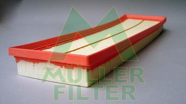 MULLER FILTER  PA3341 Luftfilter Länge: 430mm, Breite: 130mm, Höhe: 38mm, Länge: 430mm