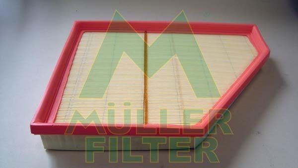 MULLER FILTER  PA3356 Luftfilter Länge: 230mm, Breite: 290mm, Breite 1: 171mm, Höhe: 38mm, Länge: 75mm