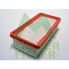 Luftfilter Länge: 230mm, Breite: 121mm, Höhe: 65mm, Länge: 230mm mit OEM-Nummer 77 01 068 104
