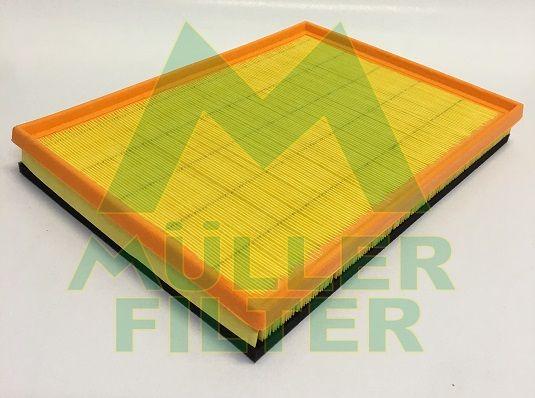 MULLER FILTER  PA3370 Luftfilter Länge: 392mm, Breite: 283mm, Höhe: 48mm, Länge: 392mm