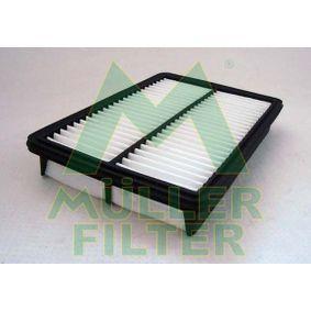 Luftfilter Länge: 272mm, Breite: 180mm, Höhe: 42mm, Länge: 272mm mit OEM-Nummer PE07-133A0-A