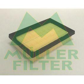 Luftfilter Länge: 178mm, Breite: 117mm, Höhe: 38mm, Länge: 178mm mit OEM-Nummer 17801-0M030