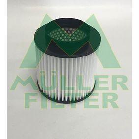 Luftfilter Höhe: 162mm mit OEM-Nummer 4H0129620F